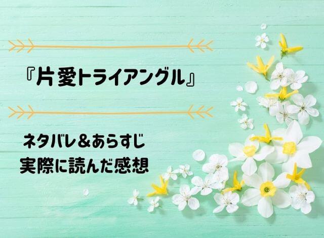 ネタバレ記事「片愛トライアングル」アイキャッチ